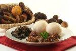 Potrawa, dziczyzna i grzyby